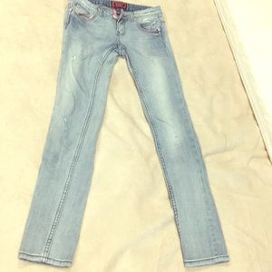 REROCK for Express- distressed jeans
